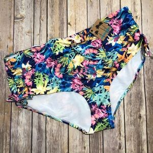 Swimsuits for all floral bikini bottom